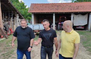potpredsednik SSP Dejan Bulatović posetio Jabučje kod Kragujevca!